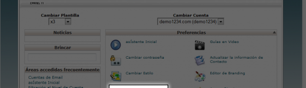 How to change the primary language in cPanel?
