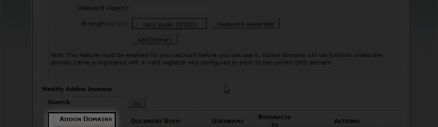 How to create an Addon Domain in cPanel?