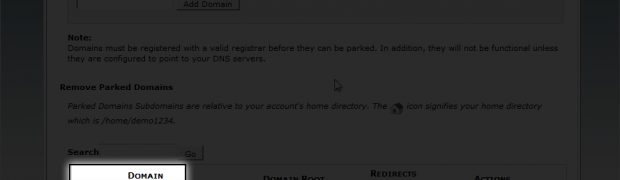 How to Park a Domain in cPanel?