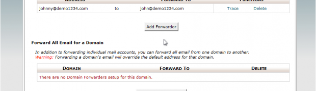 How to setup Email Forwarding in cPanel?