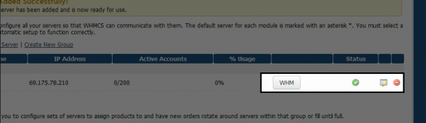 How to add and manage a WHM (reseller account) or servers in WHMCS?